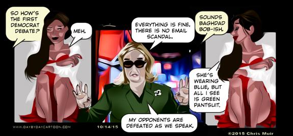 Hanoi Hillary and Baghdad Bill?