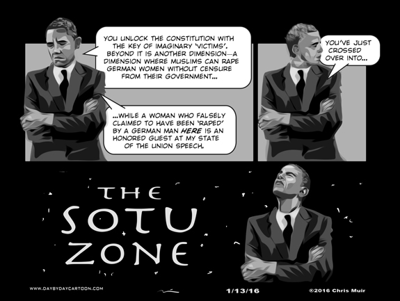 America, in The Twilight Zone. www.daybydaycartoon.com