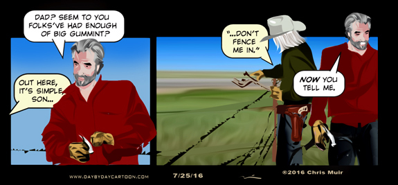 Fences. www.daybydaycartoon.com