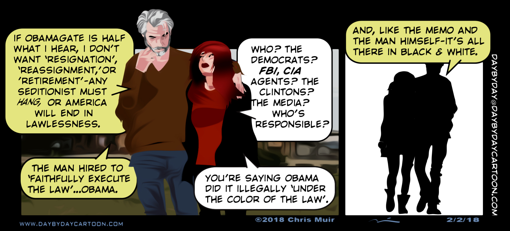 Under the Color of the Law. www.daybydaycartoon.com