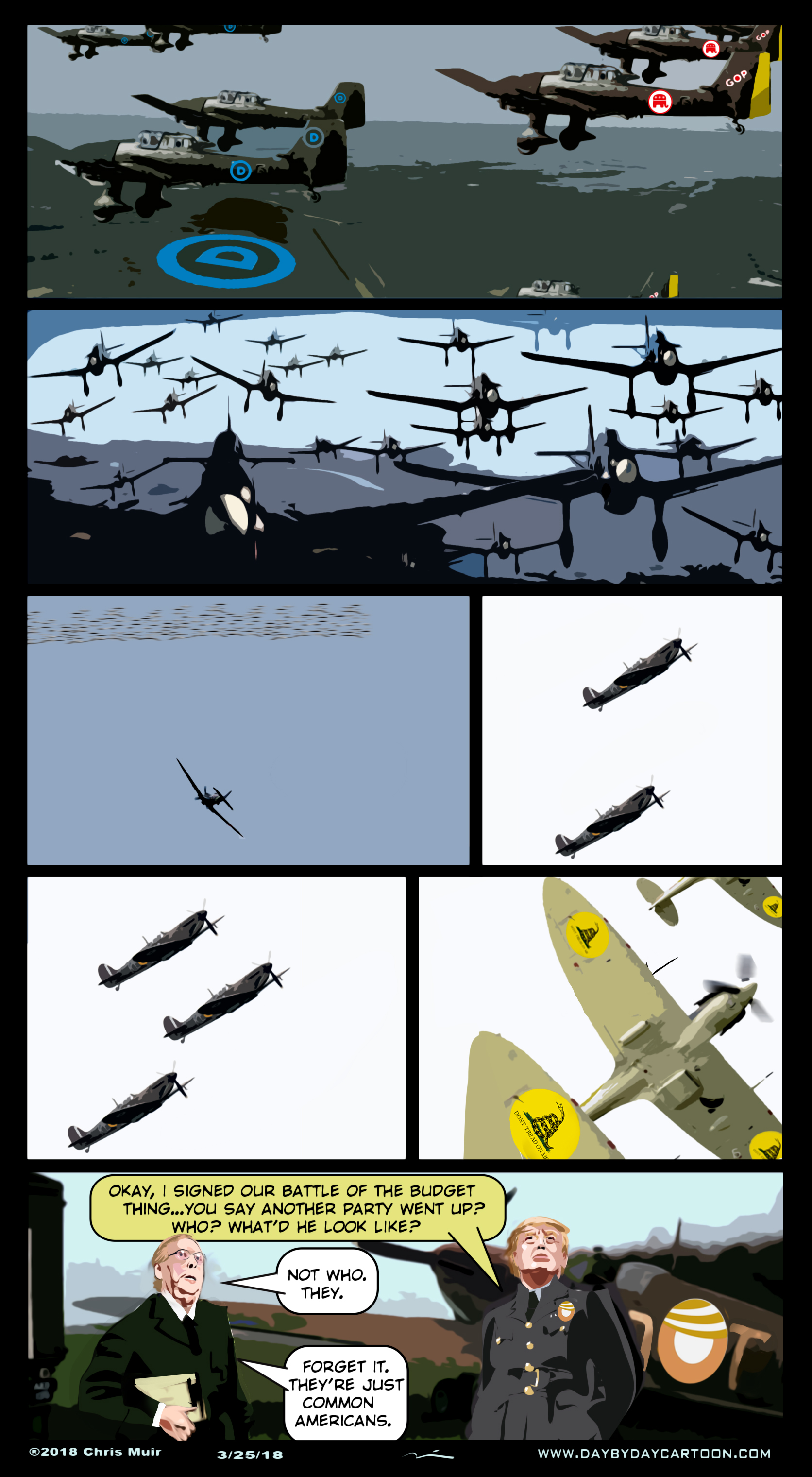 The Gathering Storm. www.daybydaycartoon.com